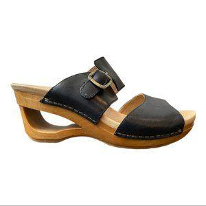 Dansko New Women's Sandal Tawny Black size 38